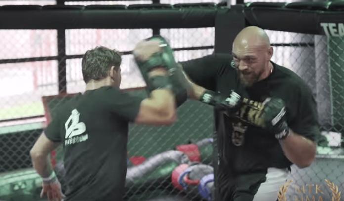 Tyson Fury MMA Darren Till