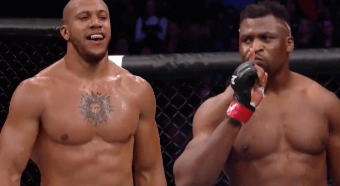UFC Paris Francis Ngannou Ciryl Gane