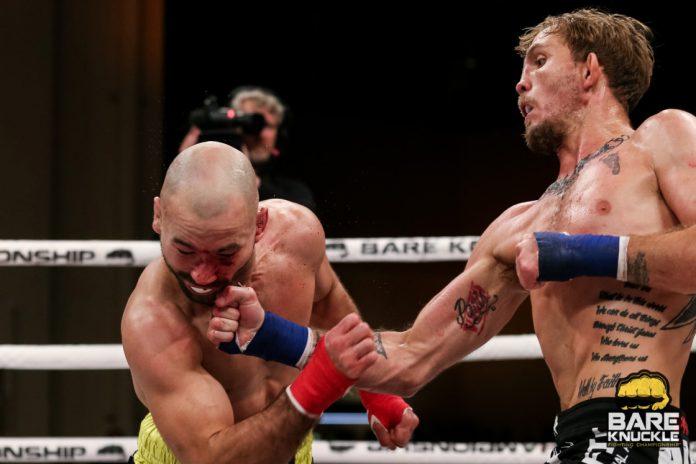 Bare Knuckle - Artem Lobov battu par TKO au 5e round