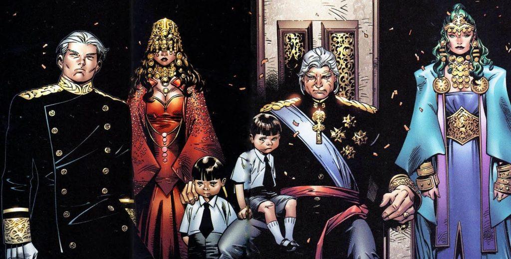 Famille de Magneto au pouvoir