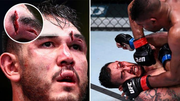 Augusto Sakai Alistair Overeem UFC