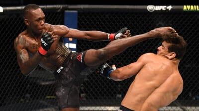 Israel Adesanya Paulo Costa UFC 253 TKO