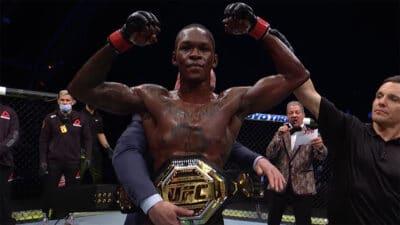 Israel Adesanya UFC 253