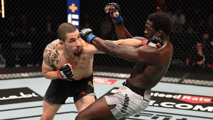 UFC 254: Whittaker v Cannonier