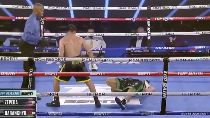Jose Zepeda Ivan Baranchyk boxe