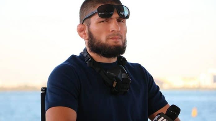 Khabib Nurmagomedov UFC 254 Conference de Press