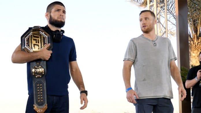 UFC 254 Khabib Gaethje Press Conference