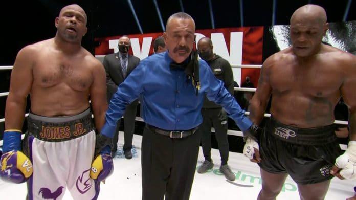 Mike Tyson Roy Jones Jr. resultat