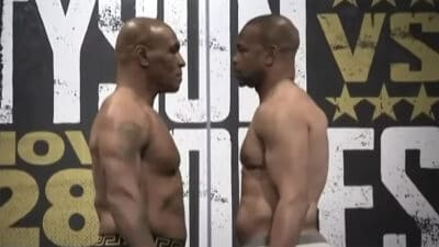Mike Tyson vs. Roy Jones Jr resultats