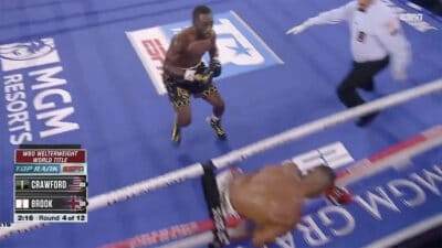 Terence Crawford TKO Kell Brook
