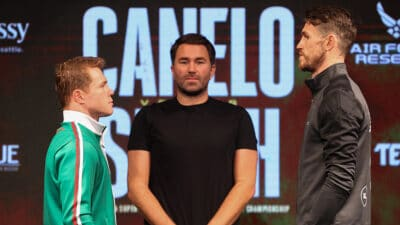 Canelo Alvarez Callum Smith