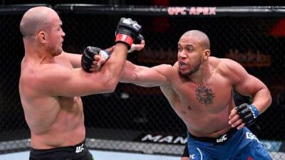 Ciryl Gane Junior Dos Santos UFC 256 TKO