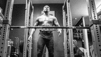 Jon Jones work out
