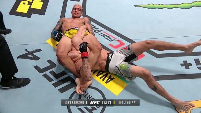 Tony Ferguson Charles Oliveira UFC 256