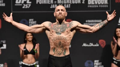 UFC 257 Poirier v McGregor: Weigh-Ins