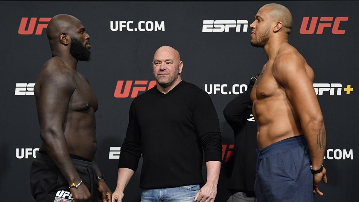 UFC Jairzinho Rozenstruik vs. Ciryl Gane - la carte, la pesée, les horaires - La Sueur