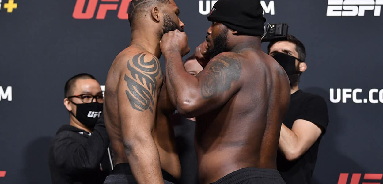 UFC Fight Night Blaydes v Lewis: Weigh-Ins