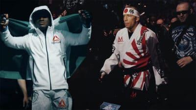 Kamaru Usman Georges St-Pierre UFC