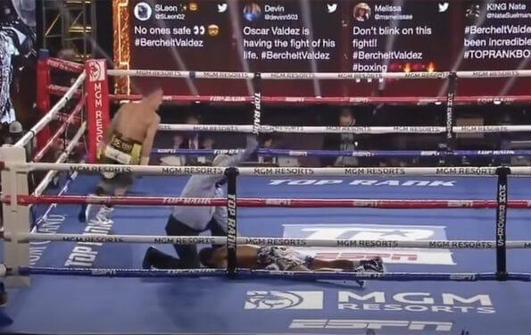 Oscar Valdez Boxe KO