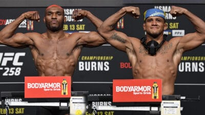 UFC 258 Usman v Burns: Weigh-Ins