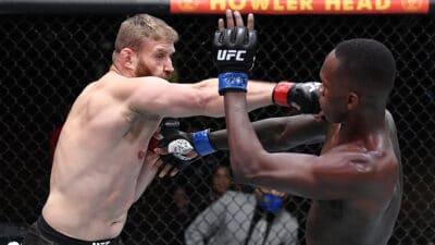 Jan Blachowicz Israel Adesanya UFC 259
