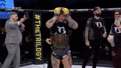 Morgan Charriere Jordan Vucenic Cage Warriors