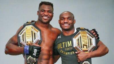 Francis Ngannou Kamaru Usman UFC
