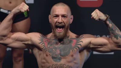 Conor McGregor Dustin Poirier UFC 257 copie