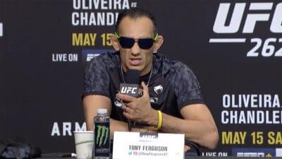 Tony Ferguson UFC 262