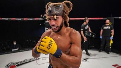 David Bear Cage Warriors