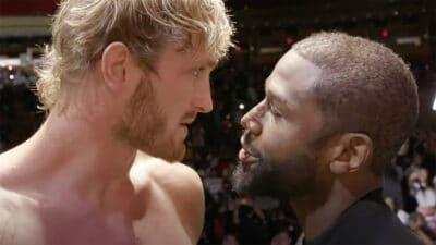 Logan Paul Floyd Mayweather boxe
