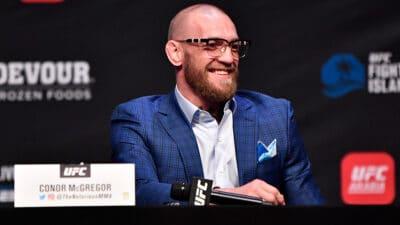 UFC 257: Poirier v McGregor Press Conference