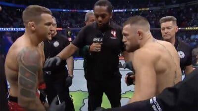 Conor McGregor Dustin Poirier UFC 264 Las Vegas
