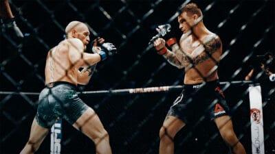 Conor McGregor Dustin Poirier UFC