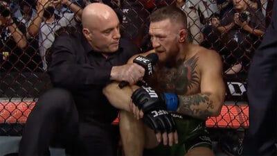Conor McGregor Joe Rogan UFC 264