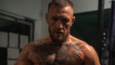 Conor McGregor training UFC