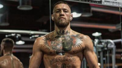 Conor McGregor workout UFC 264