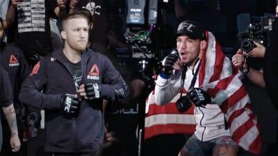 Justin Gaethje Michael Chandler UFC 268
