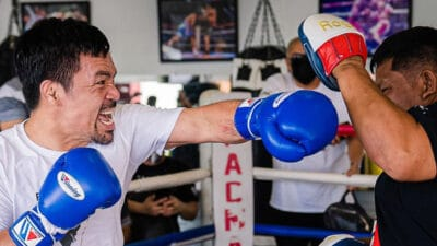 Manny Pacquiao boxe