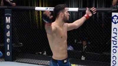 Nassourdine Imavov Ian Heinisch UFC