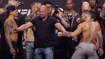 UFC 264 Conor McGregor Dustin Poirier resultats