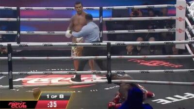 Vitor Belfort TKO Evander Holyfield