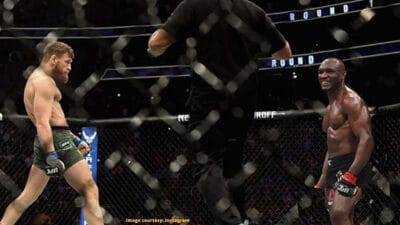 Conor McGregor Kamaru Usman UFC MMA